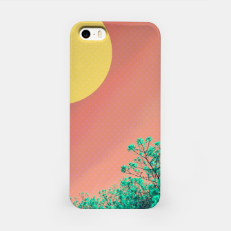 Thumbnail image of Sky and flowers 2 iPhone Case, Live Heroes