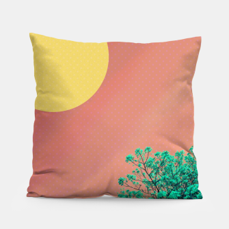 Thumbnail image of Sky and flowers 2 Pillow, Live Heroes