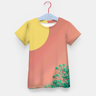 Thumbnail image of Sky and flowers 2 Kid's t-shirt, Live Heroes