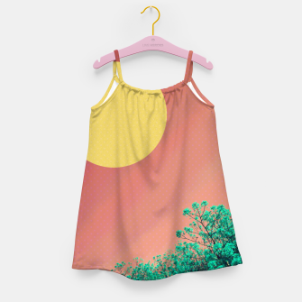 Thumbnail image of Sky and flowers 2 Girl's dress, Live Heroes
