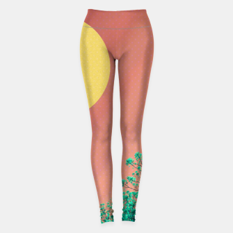 Thumbnail image of Sky and flowers 2 Leggings, Live Heroes