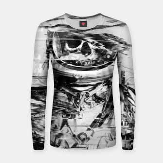 Thumbnail image of Astro Skull Women sweater, Live Heroes