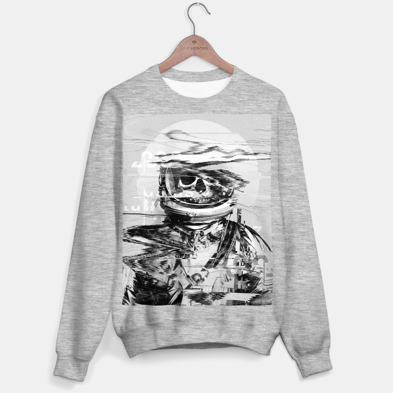 Image of Astro Skull Sweater regular - Live Heroes