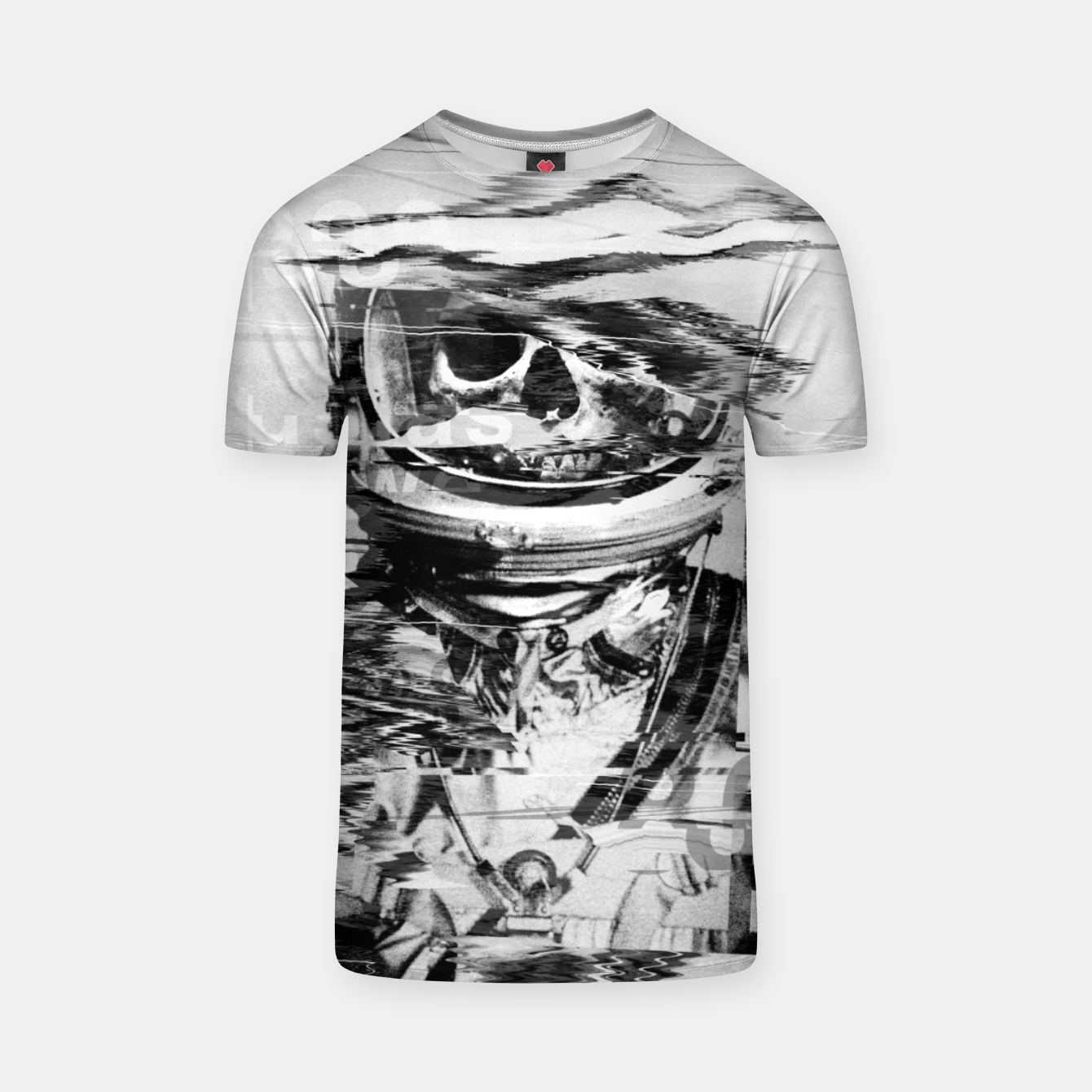 Image of Astro Skull T-shirt - Live Heroes