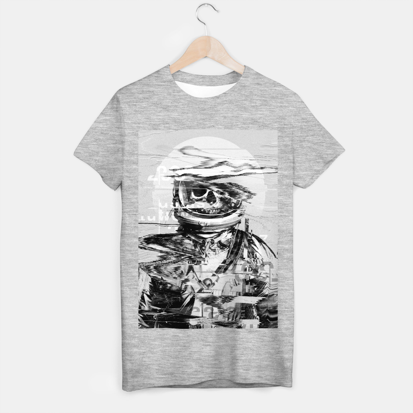 Image of Astro Skull T-shirt regular - Live Heroes