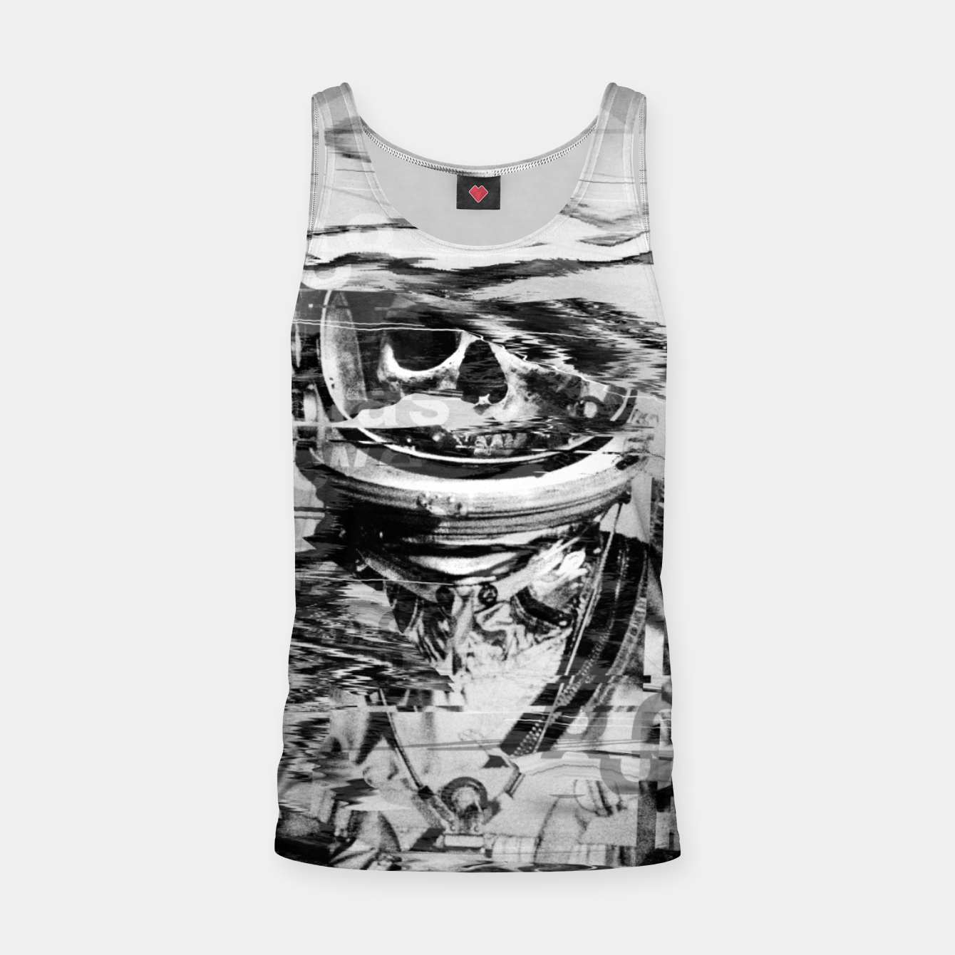 Image of Astro Skull Tank Top - Live Heroes