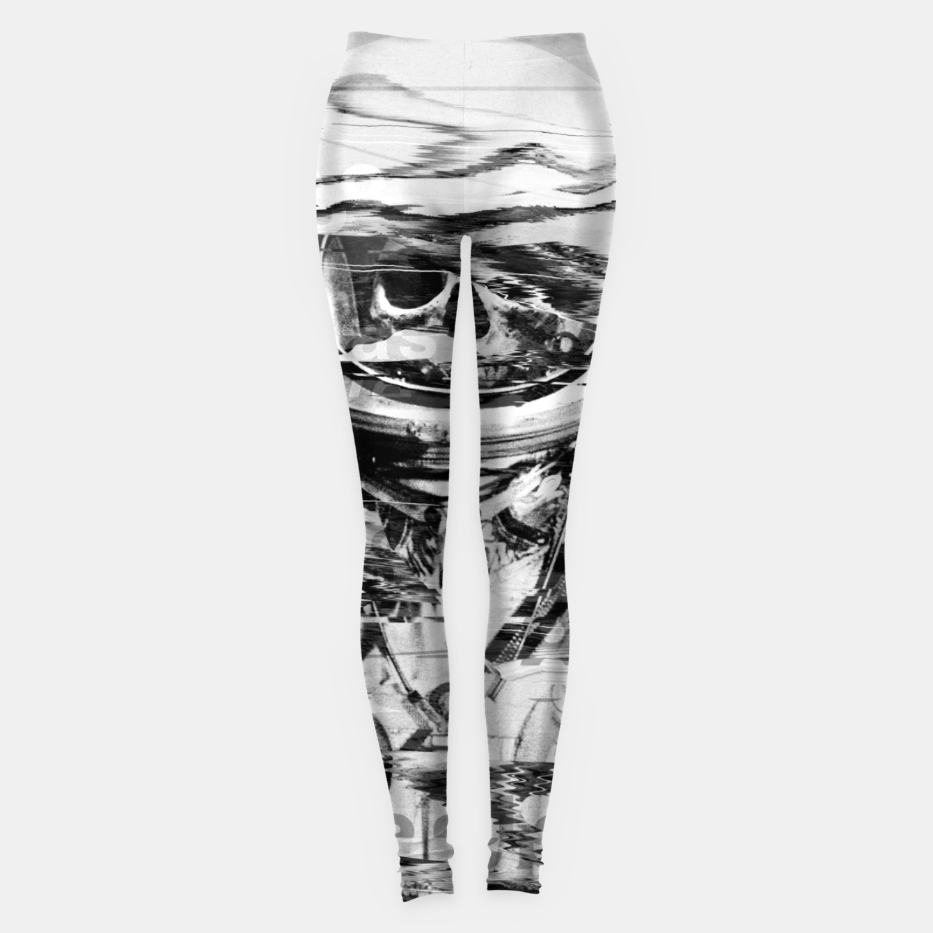 Image of Astro Skull Leggings - Live Heroes