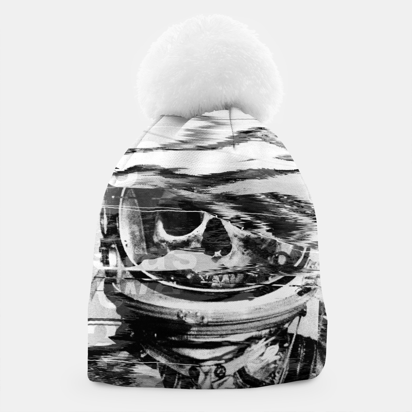 Image of Astro Skull Beanie - Live Heroes