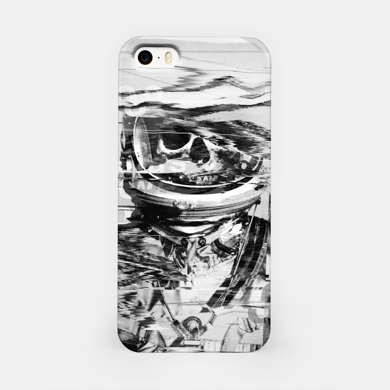 Image of Astro Skull iPhone Case - Live Heroes