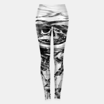 Thumbnail image of Astro Skull Leggings, Live Heroes