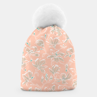 Thumbnail image of Snowy Magnolias at Dawn Beanie, Live Heroes