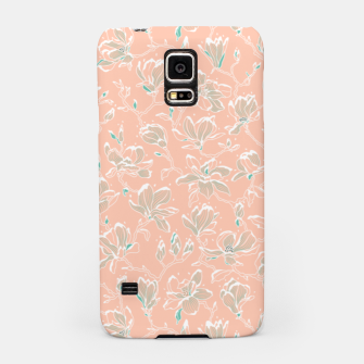 Thumbnail image of Snowy Magnolias at Dawn Samsung Case, Live Heroes
