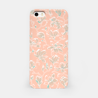 Thumbnail image of Snowy Magnolias at Dawn iPhone Case, Live Heroes