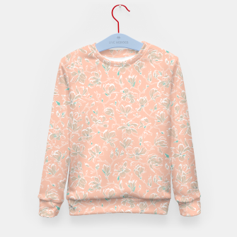 Thumbnail image of Snowy Magnolias at Dawn Kid's sweater, Live Heroes