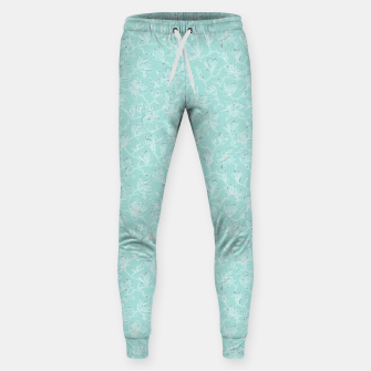 Thumbnail image of Misty White Frozen Magnolias  Sweatpants, Live Heroes