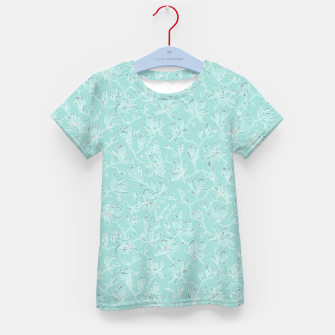 Thumbnail image of Misty White Frozen Magnolias  Kid's t-shirt, Live Heroes