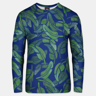 Thumbnail image of Palm Leaf Unisex sweater, Live Heroes