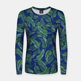 Thumbnail image of Palm Leaf Women sweater, Live Heroes