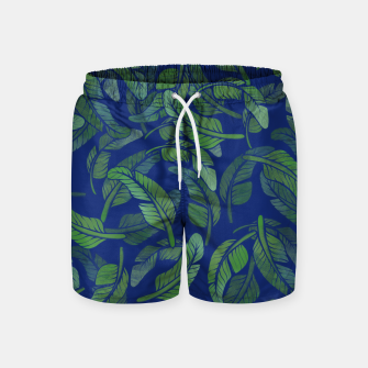 Thumbnail image of Palm Leaf Swim Shorts, Live Heroes