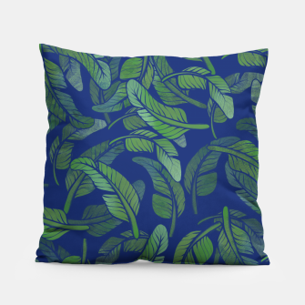 Thumbnail image of Palm Leaf Pillow, Live Heroes