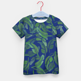 Thumbnail image of Palm Leaf Kid's t-shirt, Live Heroes