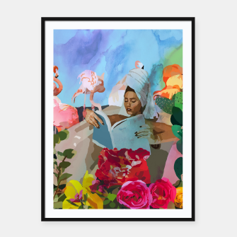 Thumbnail image of Self love Framed poster, Live Heroes