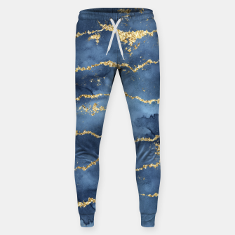 Thumbnail image of Gold Veined Watercolor Design Hosen, Live Heroes