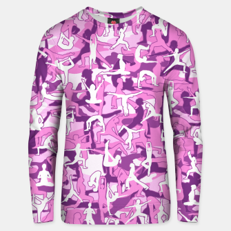 Thumbnail image of Yoga Harmony Camo PINK Unisex sweater, Live Heroes