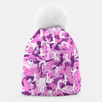 Thumbnail image of Yoga Harmony Camo PINK Beanie, Live Heroes