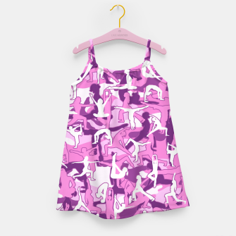 Yoga Harmony Camo PINK Girl's dress thumbnail image