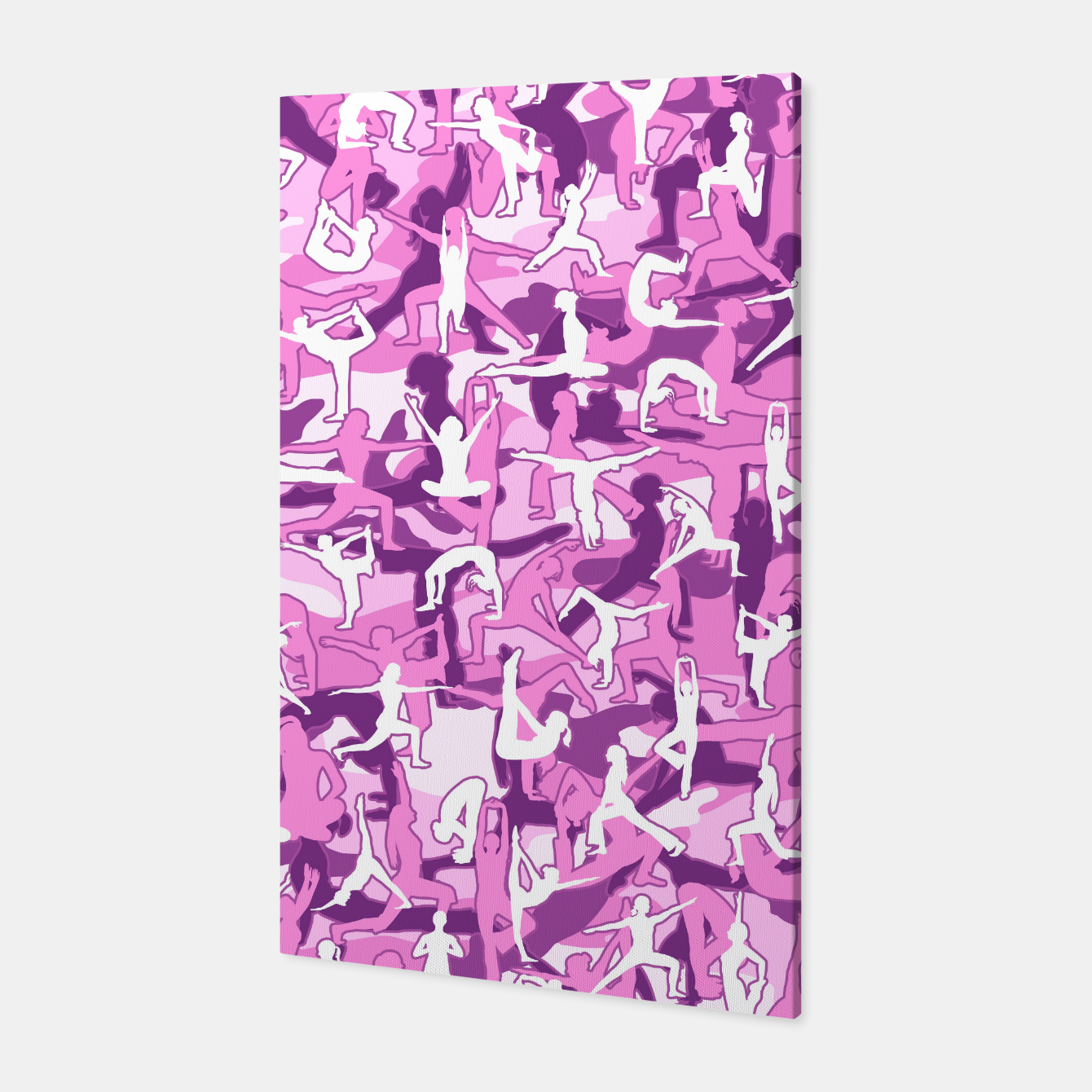 Image of Yoga Harmony Camo PINK Canvas - Live Heroes