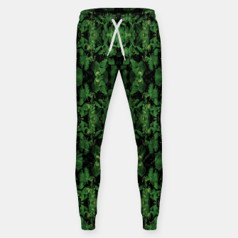 Miniature de image de Dark Nature Collage Print Sweatpants, Live Heroes