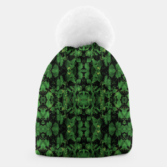 Miniature de image de Dark Nature Collage Print Beanie, Live Heroes