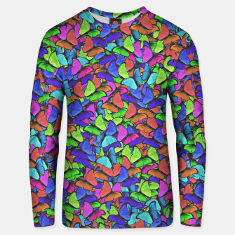 Miniatur Colourfull Butterfly Sweater, Live Heroes