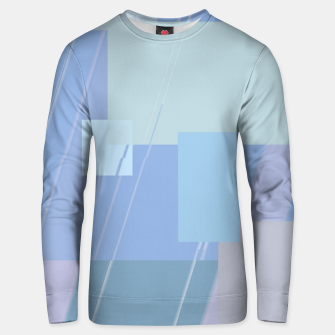 Thumbnail image of Rectangles in heather Unisex sweater, Live Heroes