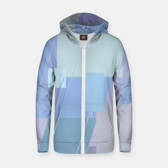 Miniature de image de Rectangles in heather Zip up hoodie, Live Heroes