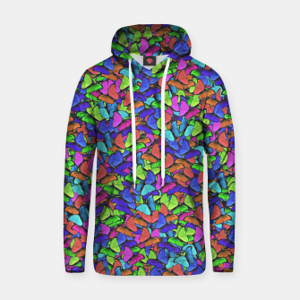 Thumbnail image of Colourfull Butterfly Hoodie, Live Heroes