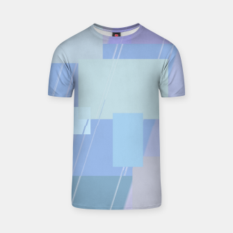 Miniature de image de Rectangles in heather T-shirt, Live Heroes