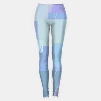Miniature de image de Rectangles in heather Leggings, Live Heroes