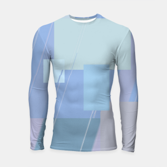 Miniature de image de Rectangles in heather Longsleeve rashguard , Live Heroes
