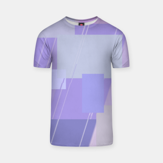 Thumbnail image of Rectangles in lavender T-shirt, Live Heroes