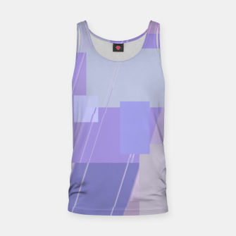 Miniature de image de Rectangles in lavender Tank Top, Live Heroes