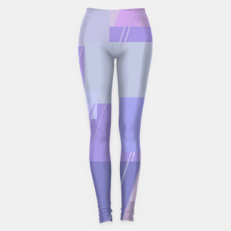 Miniature de image de Rectangles in lavender Leggings, Live Heroes