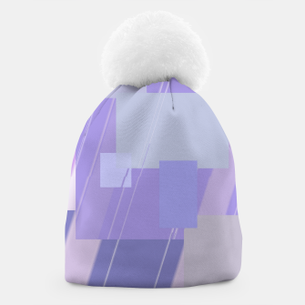 Thumbnail image of Rectangles in lavender Beanie, Live Heroes