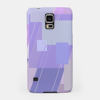 Thumbnail image of Rectangles in lavender Samsung Case, Live Heroes