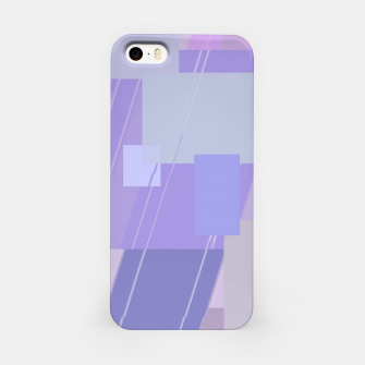 Miniature de image de Rectangles in lavender iPhone Case, Live Heroes