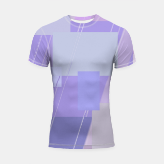 Thumbnail image of Rectangles in lavender Shortsleeve rashguard, Live Heroes