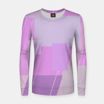 Miniature de image de Rectangles in rose Women sweater, Live Heroes