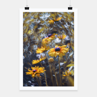 Flowers Plakat miniature