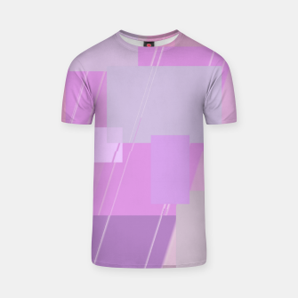 Miniature de image de Rectangles in rose T-shirt, Live Heroes